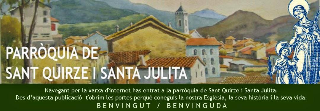PARROQUIA DE SANT QUIRZE DE BESORA