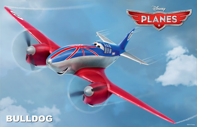 Bulldog in Planes