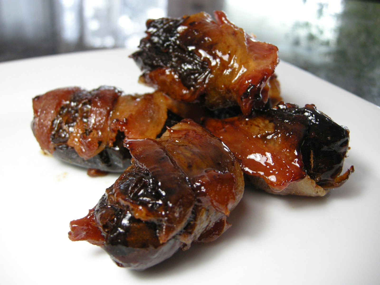 ... Business: Rosie Makes A Quick Appetizer - Stuffed Bacon-Wrapped Dates