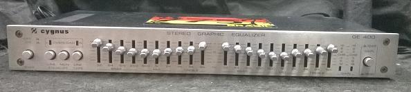 VENDA - EQUALIZADOR CYGNUS GE 400