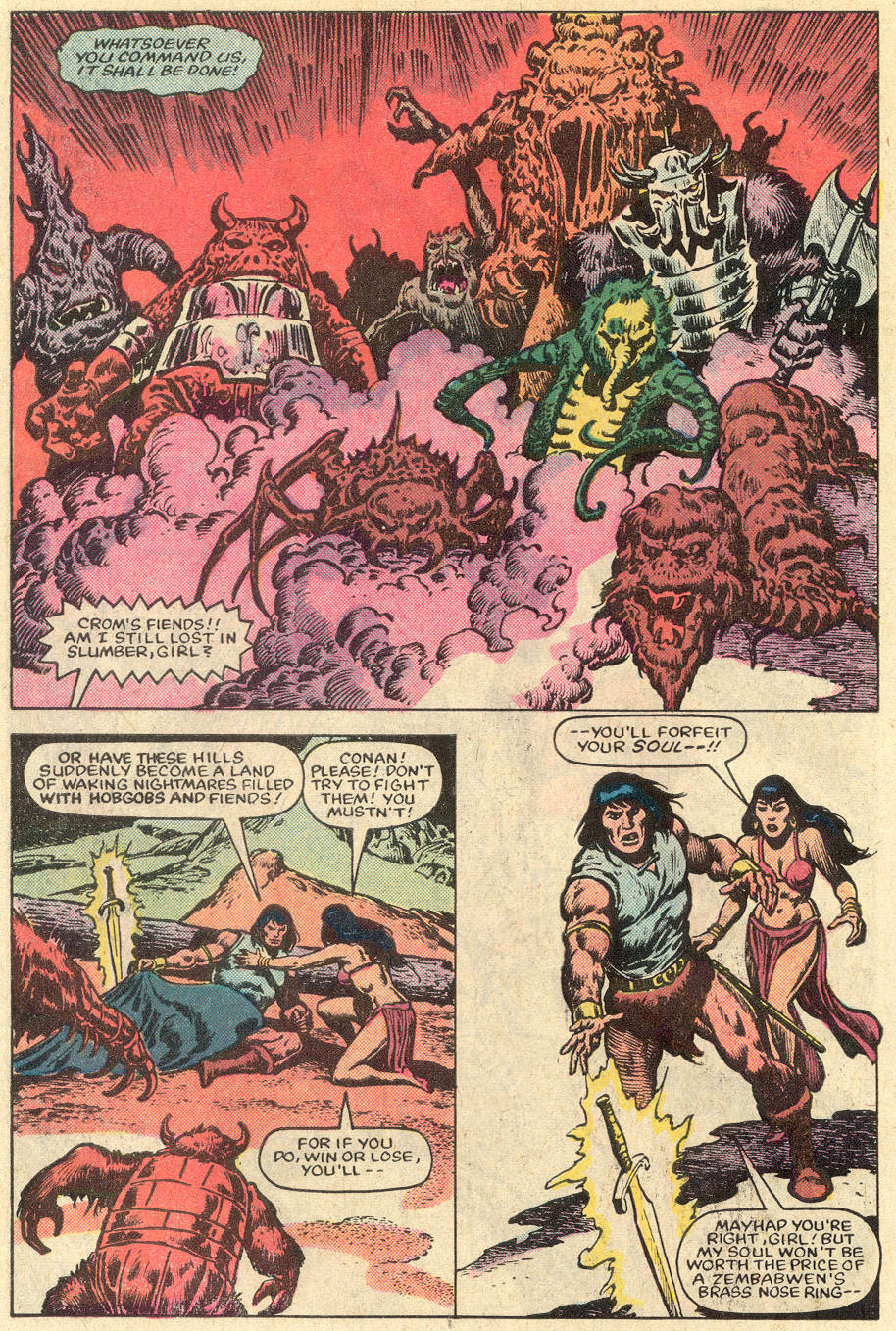 Conan the Barbarian (1970) Issue #152 #164 - English 19