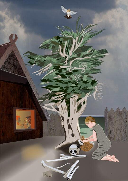 Juniper Tree, Krzak Jałowca, Krzew Jałowca, Mateusz Świstak, Baśnie na warsztacie, Bajdura, Krass