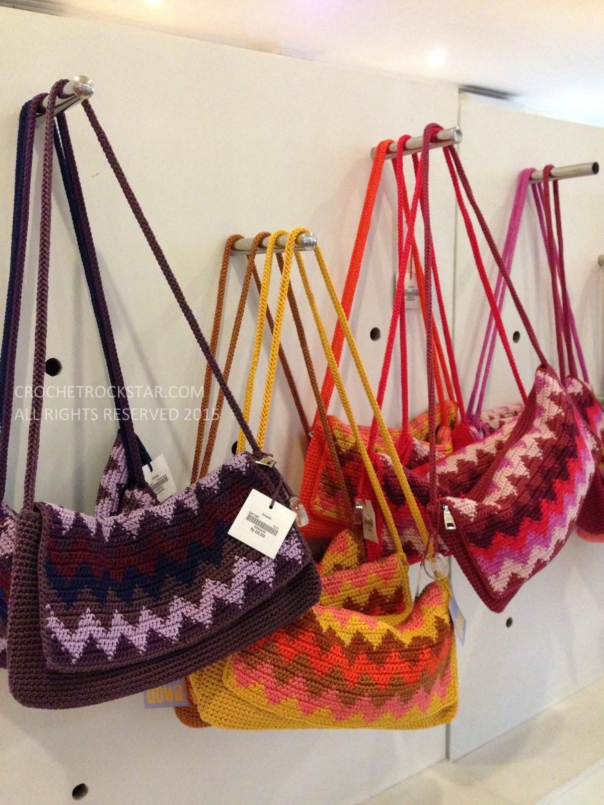 Sling bag crochet - Saturday January 3 2015