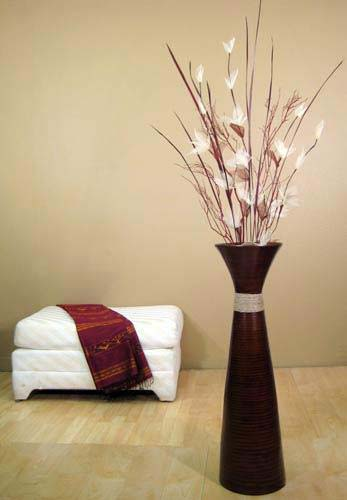 Flower vases for Floor vase with flowers