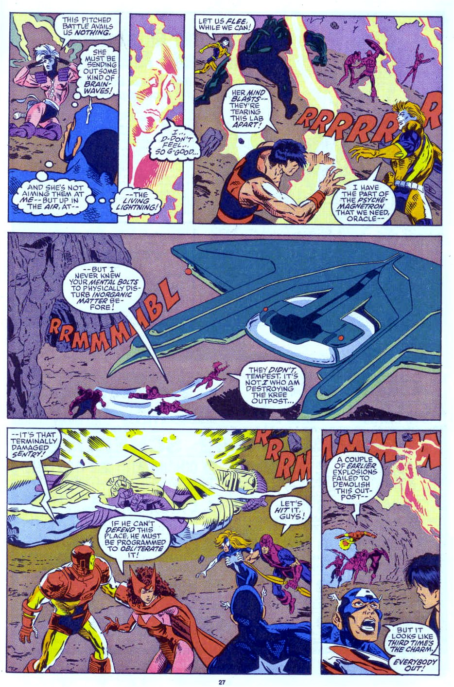 Captain America (1968) Issue #398b #332 - English 21