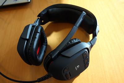 HEADSET LOGITECH G35 - Fone de Ouvido com microfone da Logitech