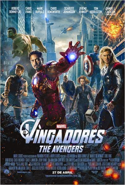 Filme Os Vingadores Dublado AVI BDRip