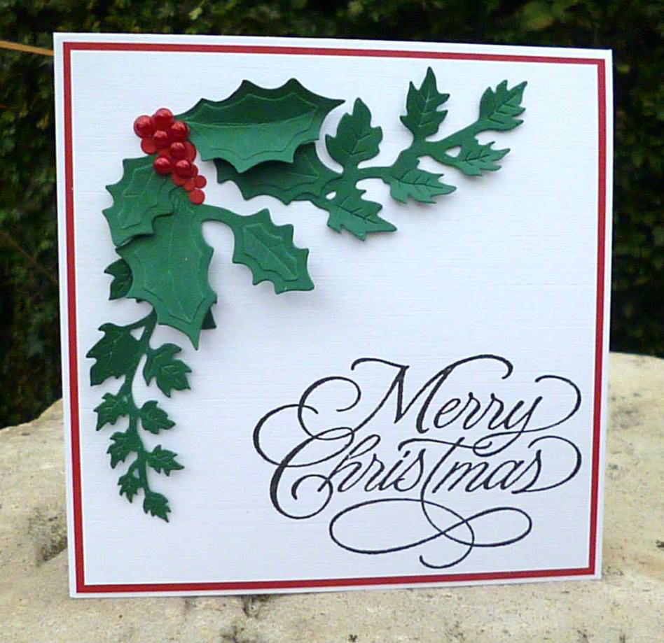 Image gallery handmade christmas cards images for Christmas cards made