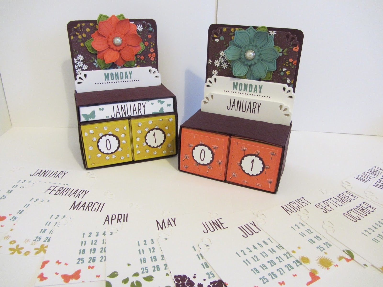 Perpetual Calendar Stamp : Stamping moments day to perpetual calendar stamp class
