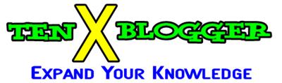 Ten X Blogger