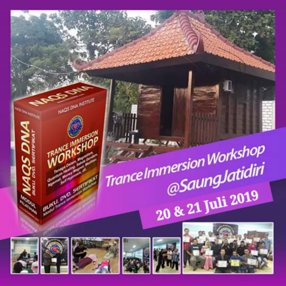 WORKSHOP TRANCE IMMERSION NAQS DNA