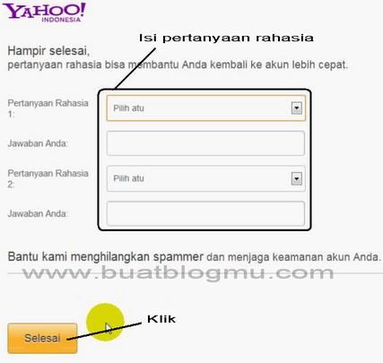 Cara membuat Email di Yahoo Terbaru
