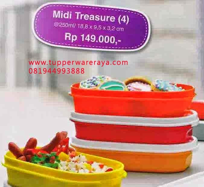 Katalog Tupperware Promo Mei 2014 midi treasure
