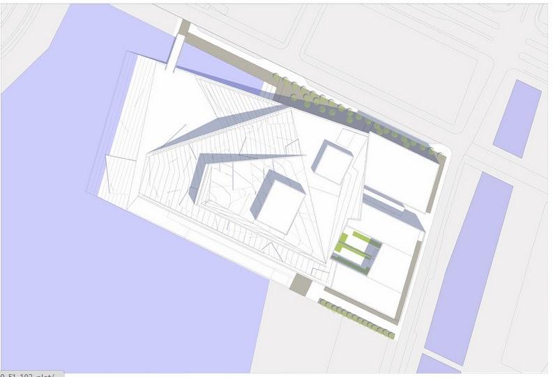 مخططات مشروع دار أوبرا أوسلو بالنرويج  Layout