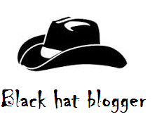Black hat blogger