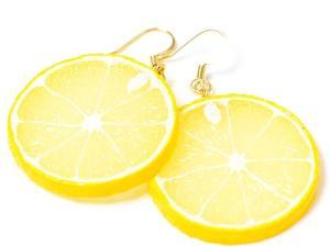 Perhiasan unik berbentuk jeruk