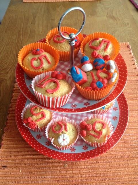 cupcake versieren verjaardag