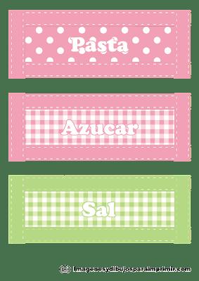 Etiqueta para frascos de cocina imagenes y dibujos para - Imagenes de cocinas para imprimir ...