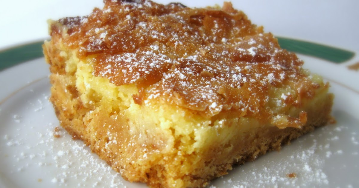 Lemon Chess Cake Recipe