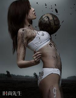 7 Gambar Lucu Sepak Bola Wanita Cina.serbatujuh.blogspot.com