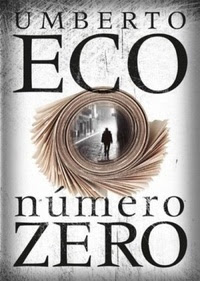 Número Zero. Umberto Eco. Capa