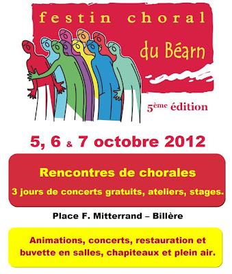festin choral à Billère 2012