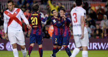 مباراة برشلونة ضد قرطبة فى الدورى الإسبانى