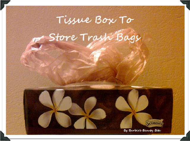 Recycle old tissue boxes, by barbies beauty bits