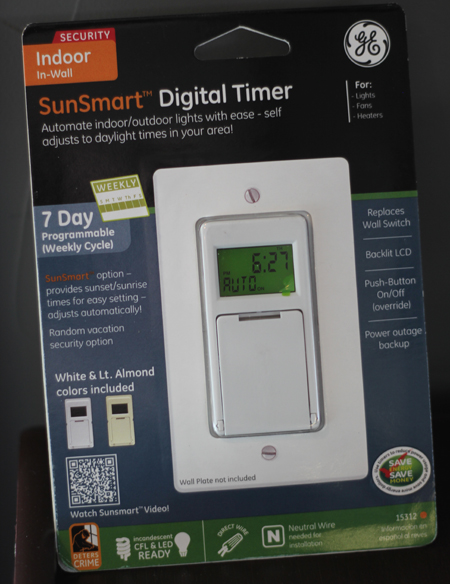 Digital Light Switch Timer: A single-pole light switch turns on a light from a single location, while  three way switches are always used in pairs and allow you to turn a light  on or ...,Lighting