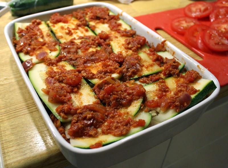 Oppskrift Vegan Lasagne Vegetarlasagne Kjøttfri Kjøttsaus Soyamince Tvp Tsp Soyakjøtt