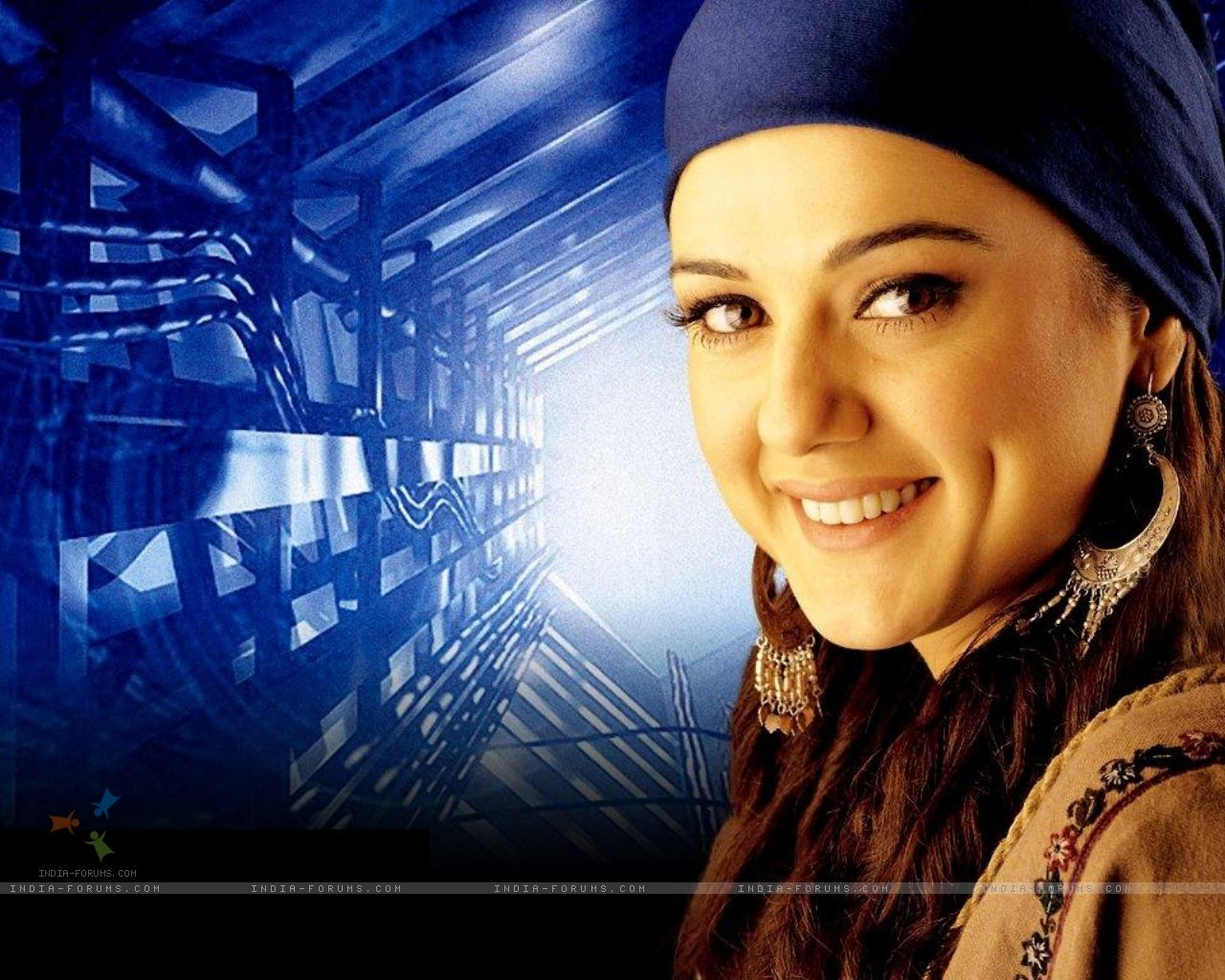 Photos Wall Prity Zinta Wallpaper