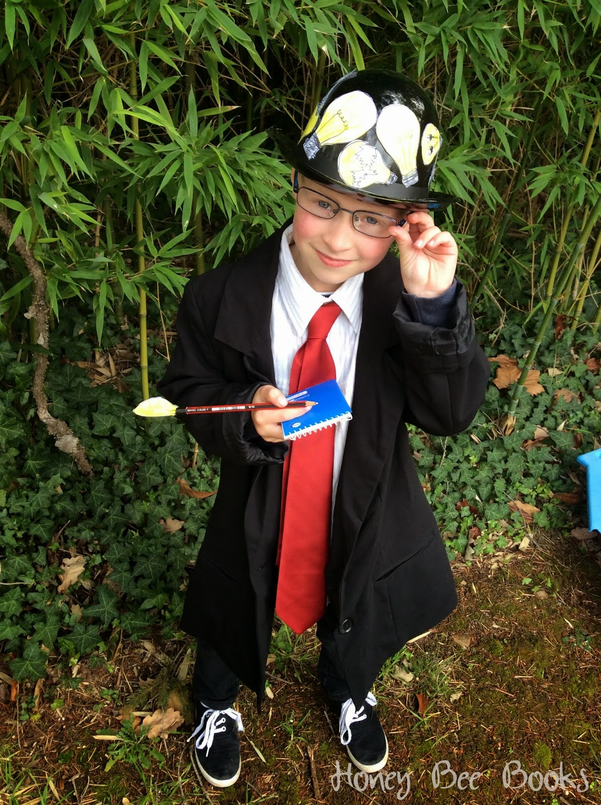 The Extraordinary Mr Qwerty costume for Book Week