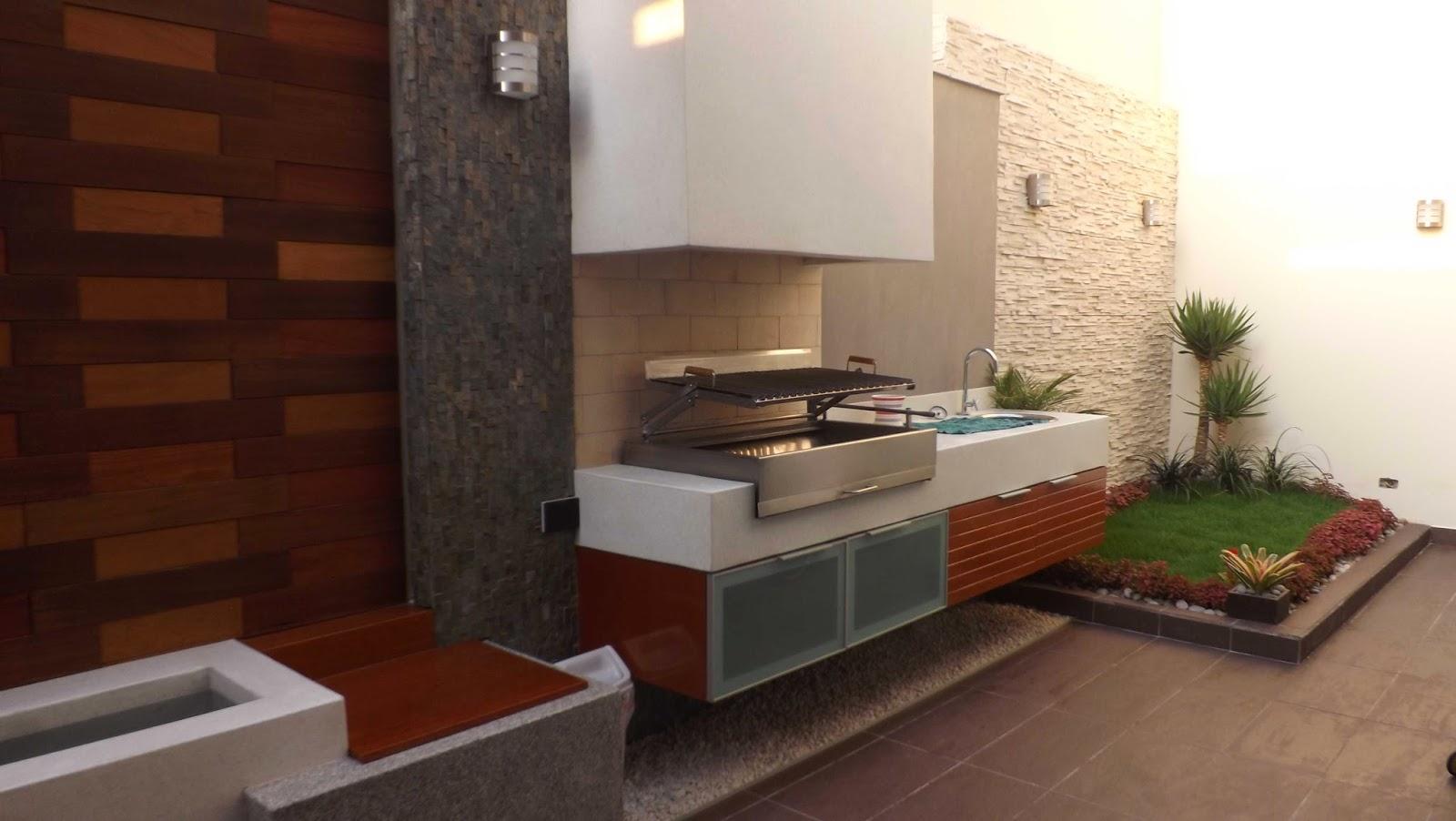 Oniria dise o y ejecuci n de parrillas en terrazas for Parrillas para casas modernas