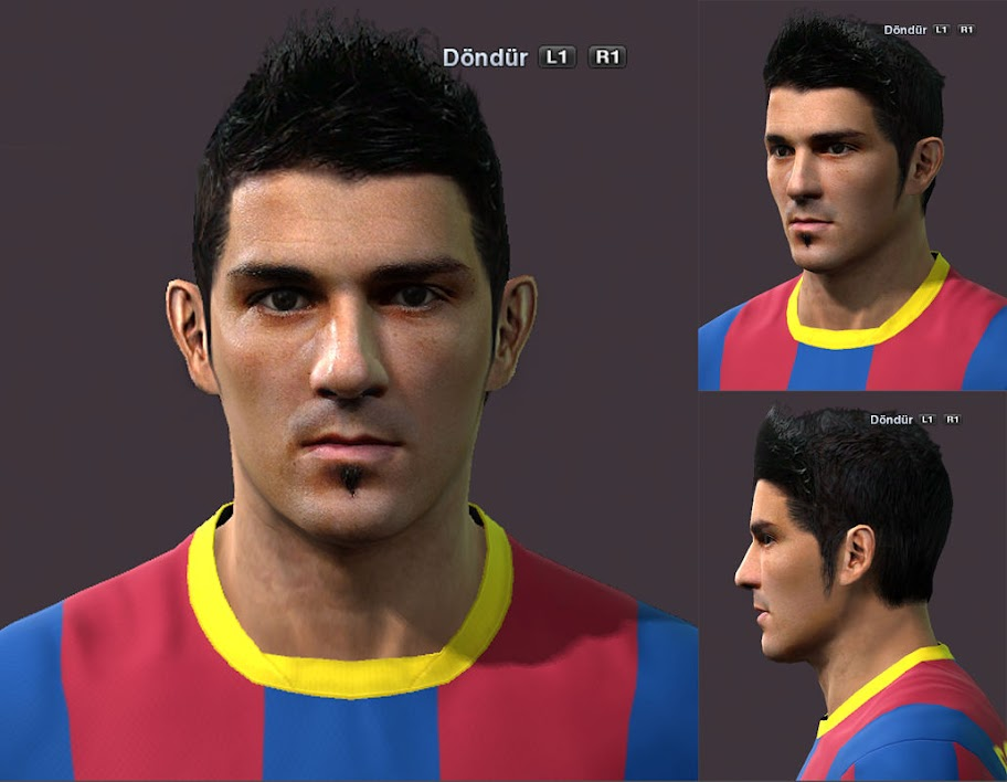 David Villa Face by ilhan