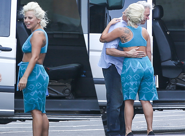 Lady Gaga Spotted Out & About in Montreaux (July 6)