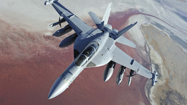 Boeing EA-18G Growler Fighter HD Wallpaper