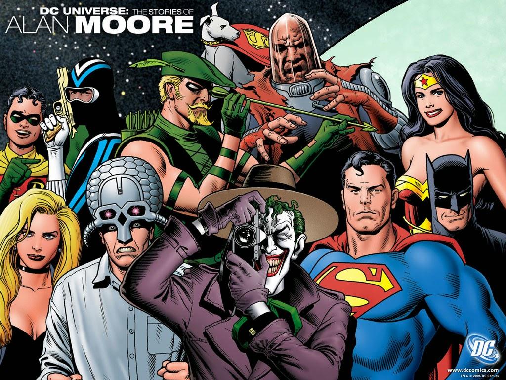 DC Universe Wallpaper