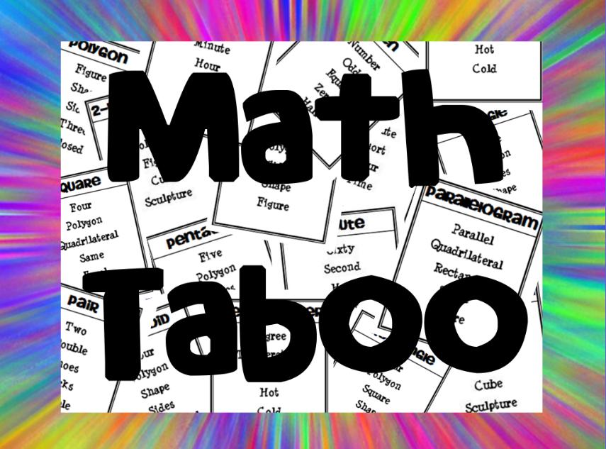 Math Taboo Now Available!