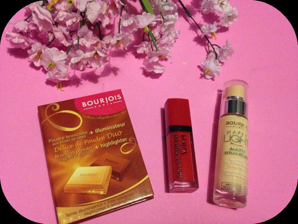 Bourjois makeup haul