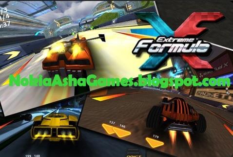 Formula Extreme Racing game Download for Nokia Asha 305 306 308 309 ...