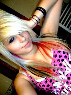 Chica emo guapa