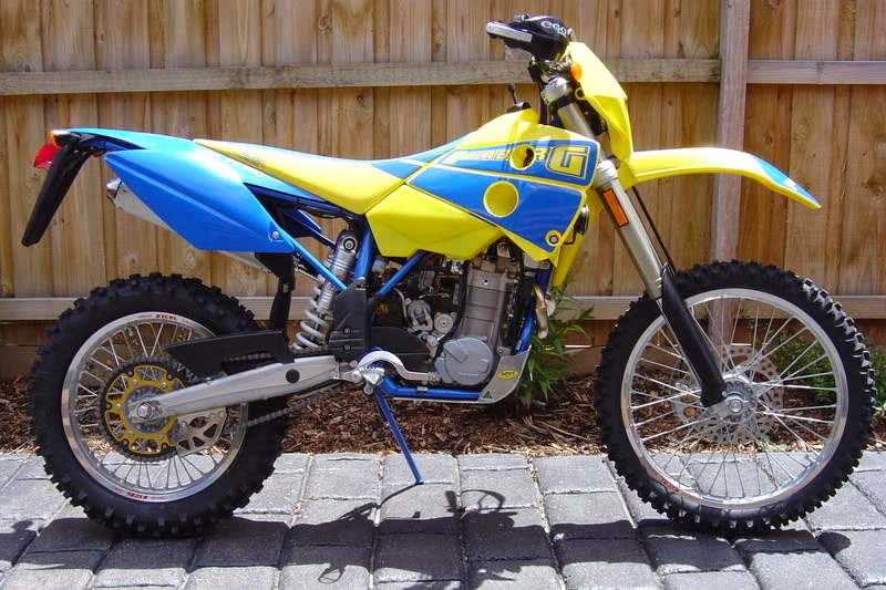 Husaberg FE 550 Enduro Old Bikes