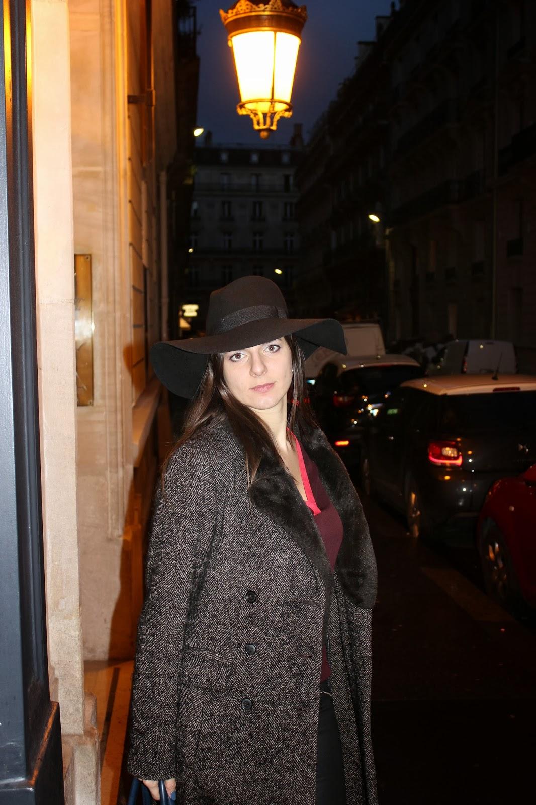 Blouse comptoir des cotonniers chapeau H&M