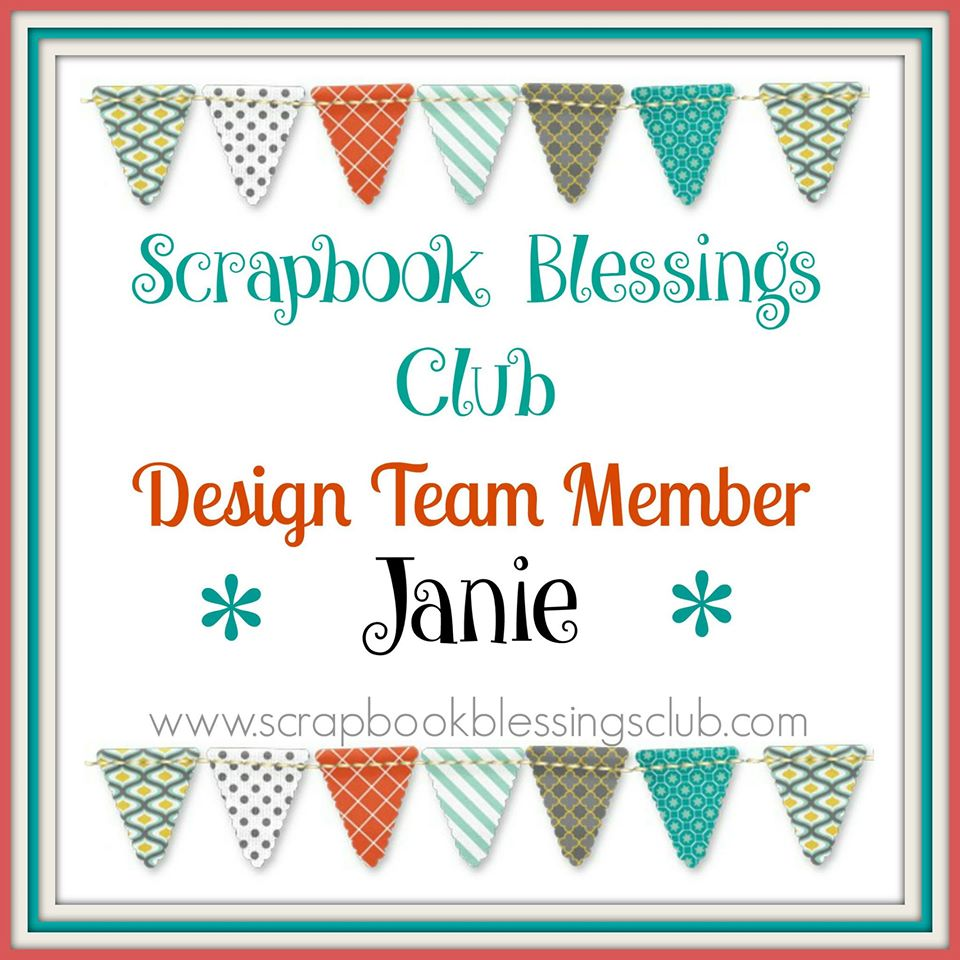Scrapbook Blessings Club DT