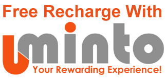 Earn Free Mobile Recharge With Uminto