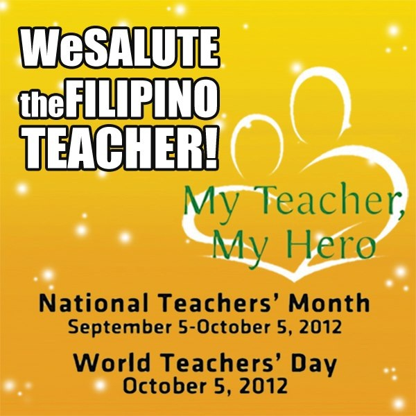 join 2012 national teachers month and world teachers day