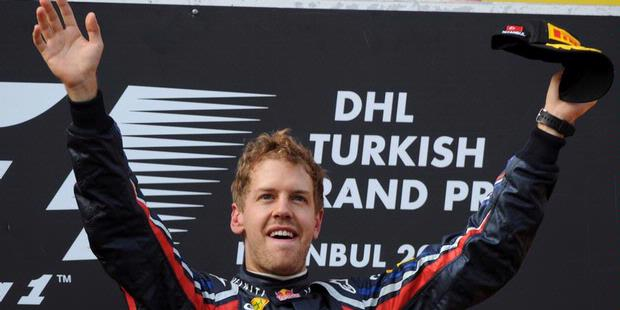 bieber vettel. Teammate of Vettel won the