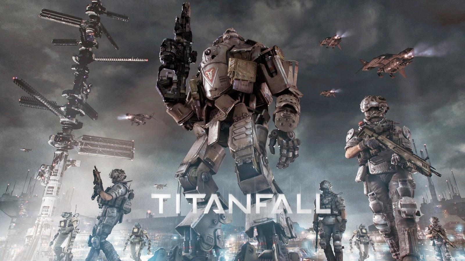 Titanfall 1080P Wallpaper