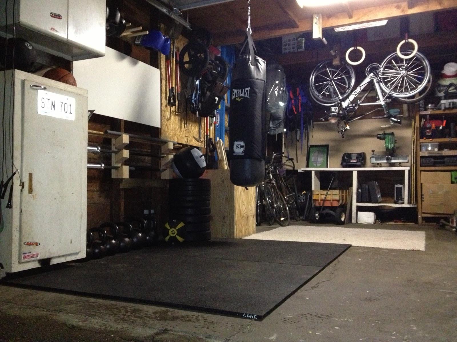 Garage gym running with mr burman