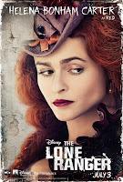Helena Bonham Carter The Lone Ranger Poster
